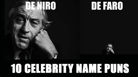 Celebrity Name Pun Meme - 10 celebrity name puns craveonline