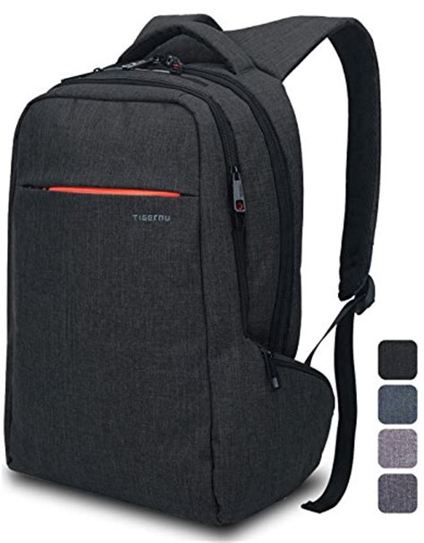Rugged Computer Backpack by Lapacker Black Shockproof Laptop Backpack For 15 Inch
