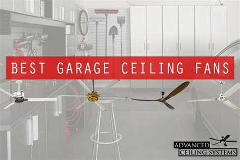 best garage ceiling fan 7 rustic industrial ceiling fans with cage lights you ll
