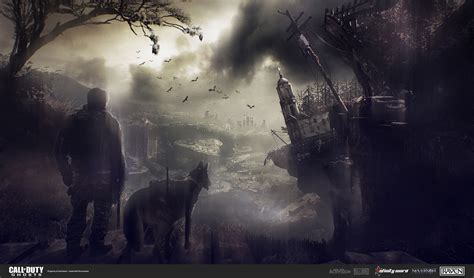 the art of ghost call of duty ghosts concept art by yan ostretsov concept art world