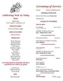 Wedding Bulletin Covers Wedding Program On Pinterest Catholic Wedding Programs Order Of Service And Wedding Programs