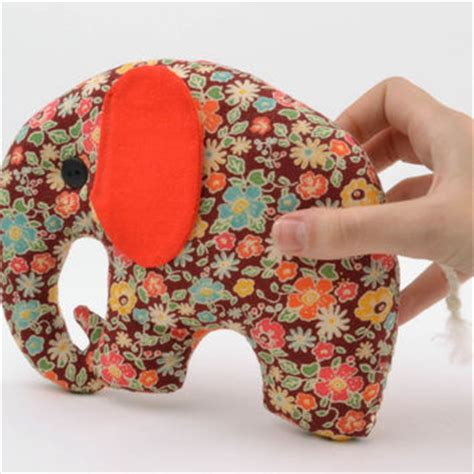 Handmade Soft Toys Free Patterns - shop stuffed elephant pattern on wanelo