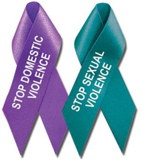 domestic violence ribbon color stock stop domestic violence and stop sexual violence