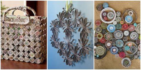 arredare con materiale di riciclo riciclo creativo di carta stoffa e legno roba da donne