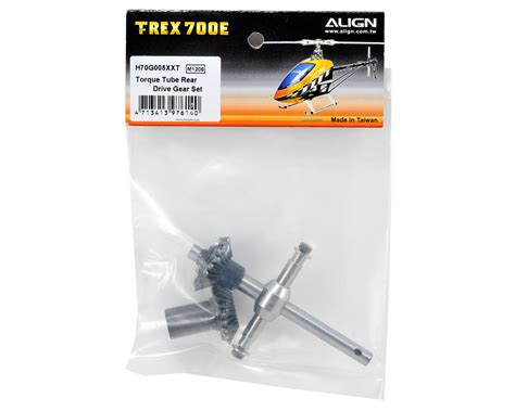 Align Torque Rear Drive Gear Set Helicopter Parts align torque rear drive gear set agnh70g005xx helicopters amain hobbies