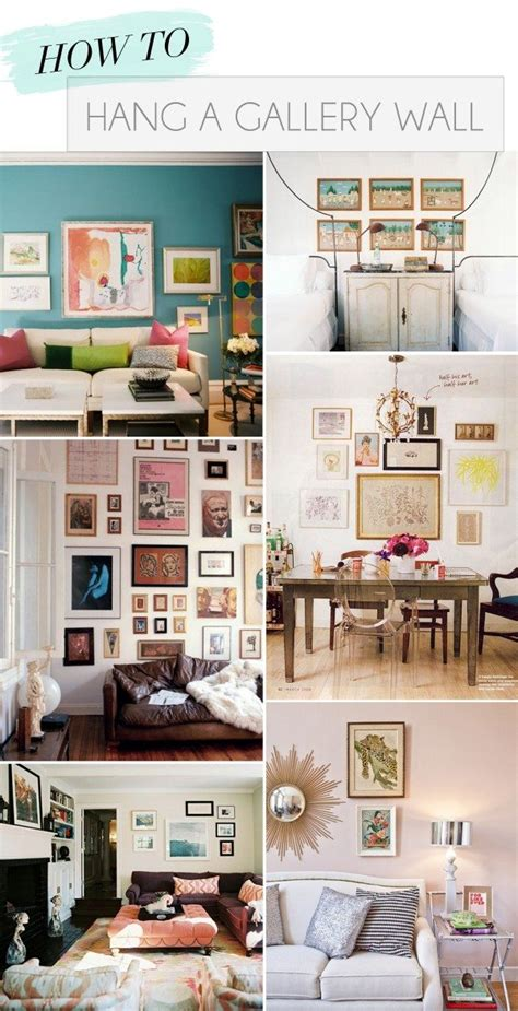 how to gallery wall how to hang a gallery wall glitter guide