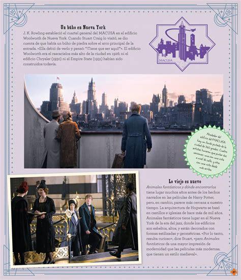 libro j k rowlings wizarding world j k rowling s wizarding world cine m 193 gico 1 gente extraordinaria y lugares fascinantes norma