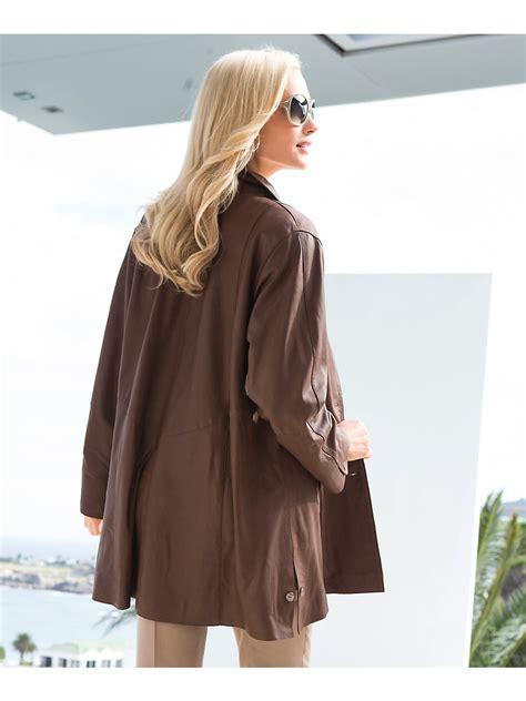 womens leather swing coat leather swing coat fashion women s coat 2017