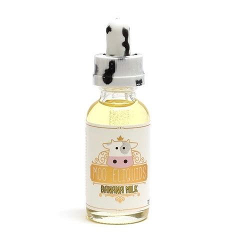 moo e liquids banana milk 30ml best vape juice on vapedrive