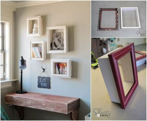 try these wonderful diy frame shelves