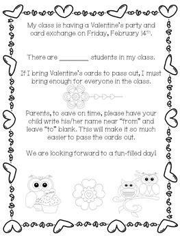 card exchange letter to parents the world s catalog of ideas