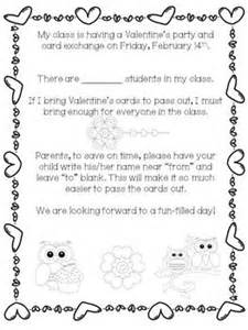 Parent Letter S Day The World S Catalog Of Ideas