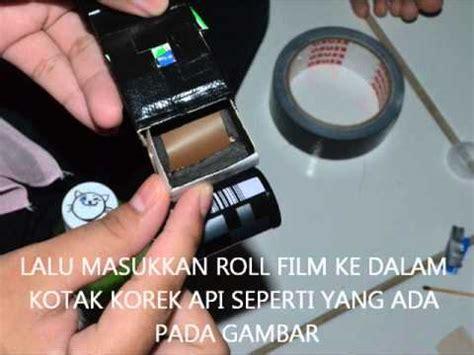 cara membuat webcam jadi cctv cara membuat kamera lubang jarum pinhole camera youtube