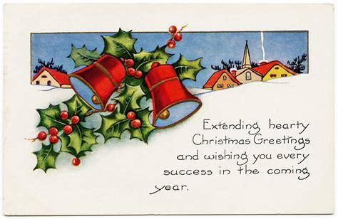 holly  bells whitney christmas postcard  design shop blog