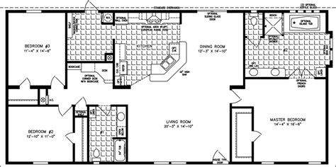 sq ft manufactured home floor plans