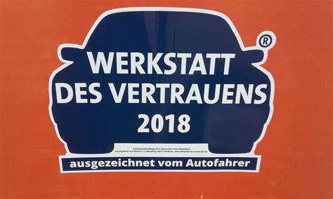 auszeichnung werkstatt des vertrauens 2018 kfz zoephel - Werkstatt Des Vertrauens 2018