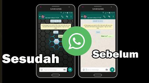 cara mengganti wallpaper chat di line cara mudah mengganti background pesan chatting di whatsapp
