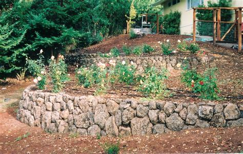 Garden Rock Wall Garden Walls Ideas Landscape Construction Rock