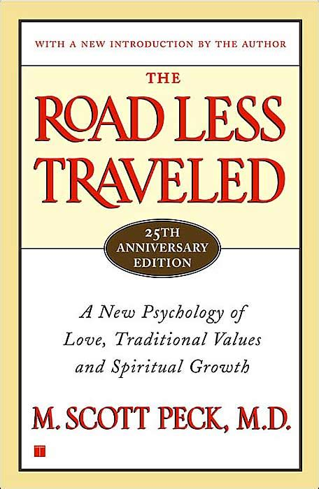 taking the road less traveled books brief book review of m peck s the road less
