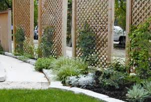 front yard landscape ideas for privacy home design