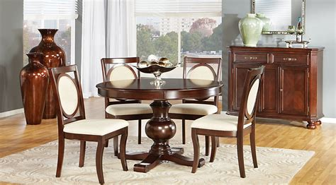 emory heights cherry 5 pc dining room sets regarding