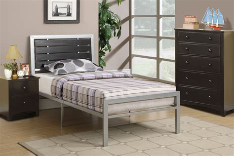 width of full bed frame poundex associates f9412f bobkona xii full size bed frame