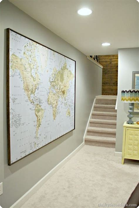 how to hang a map without a frame best 25 framed world map ideas on pinterest color world