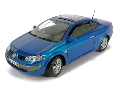 renault megane 2004 blue renault megane ii cc 2004 solido 1 18 autos