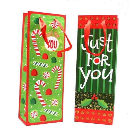 fun designs wine bottle gift bags partysuppliesdelivered