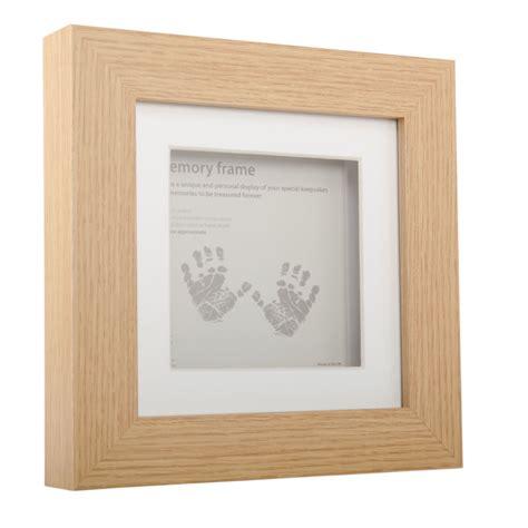 Frame 5016 Box 4 oak effect memory box frame 15 x 15 cm hobbycraft