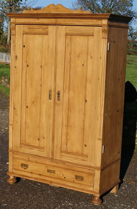 Pine Wardrobes Beautiful German Stripped Pine Wardrobe 249829