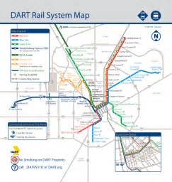 Dart Route Map by Dart Org Dart Rail System Map