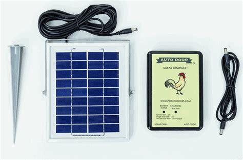 Solar Chicken Door by Solar Kit For Automatic Chicken Coop Door