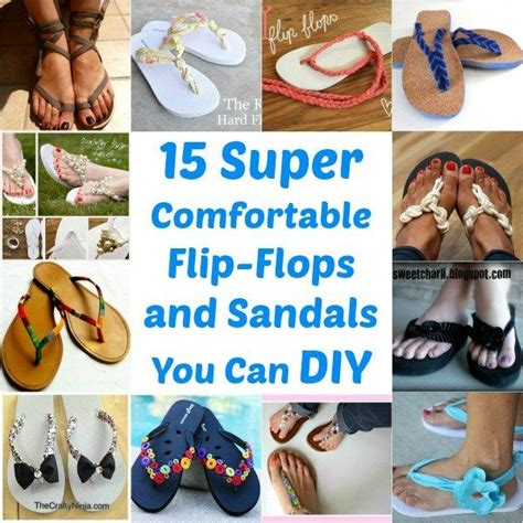 how to make flip flops comfortable 15 super comfortable flip flops and sandals you can diy