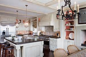 Kitchen Island Range Hoods by Island Range Kitchen Traditional With Bell Pendant