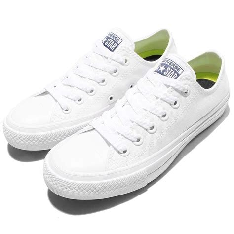 Sepatu Wanita Converse Lunarlon Low 2 converse chuck all signature lunarlon 2 ii low white shoes 150154c ebay