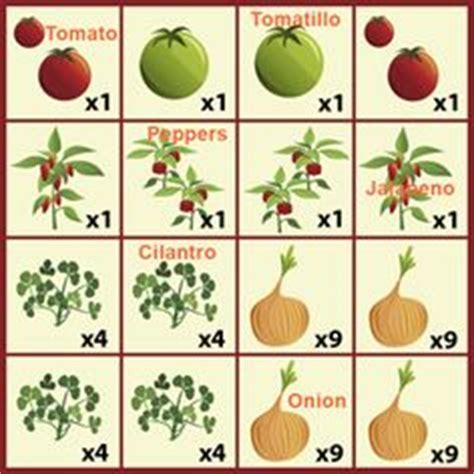 Salsa Garden Layout Green Thumb On Pinterest Raised Garden Beds Gardening And Vegetable Garden
