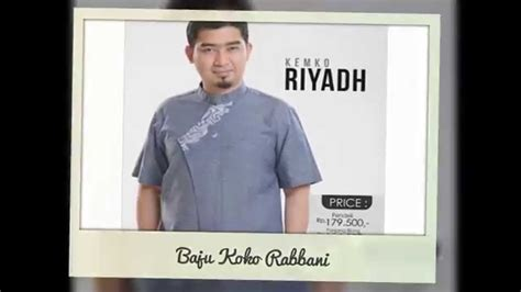 Baju Koko Rabbani harga baju koko rabbani terbaru murah semarang