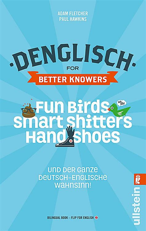 denglisch for better knowers the dreamerland denglisch for better knowers adam