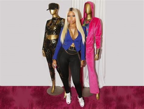 The Unveil Fashion Line Elizabeth And by Nicki Minaj Unveils New Clothing Line The Royale