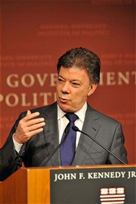 Johns Ma Mba Government by A Address By Colombia President Juan Manuel Santos