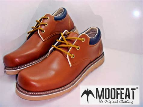Sepatu Moofeat Tracking Black mods shop moofeat semi low boots