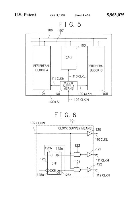 what is a large scale integrated circuit patent us5963075 large scale integrated circuit functional blocks controlled with