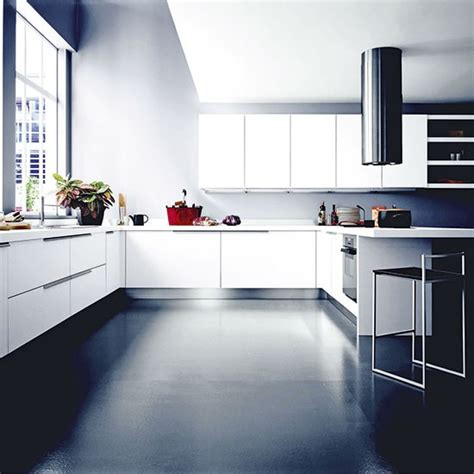 Kitchen Units Design Modern Monochrome Kitchen Units Designer Kitchen Units Housetohome Co Uk