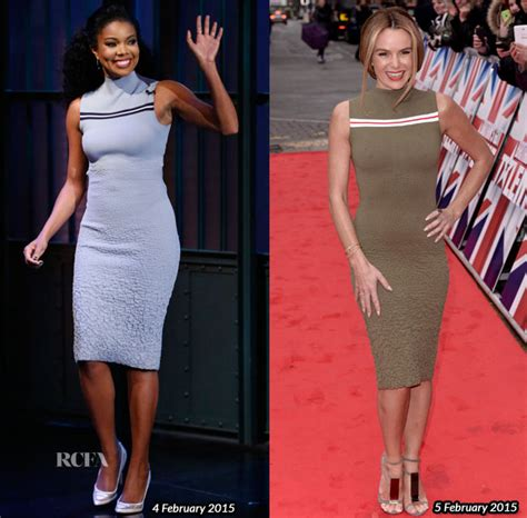 Who Wore Better Carpet Style Awards 2 by Amanda Holden Carpet Fashion Awards