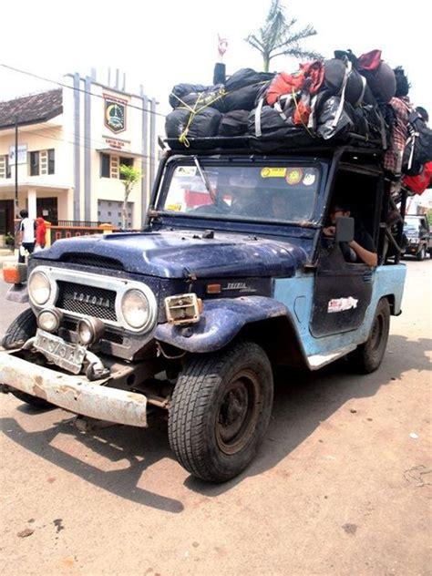 Ransel Jeep 2 menikmati pesona atap jawa indonesia360derajat