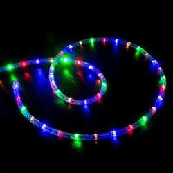 color led lights 150 rgb multi color led rope light home outdoor