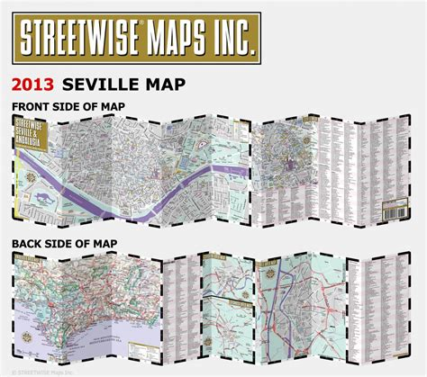 streetwise seville map buy seville and andalusia streetwise map flagline
