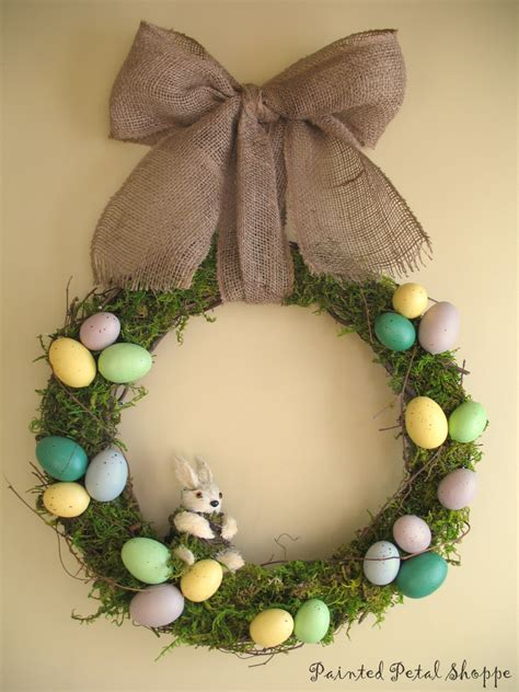 Wreath Handmade - 16 jolly handmade easter wreath designs for the upcoming