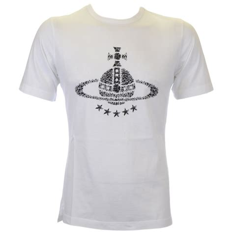 Vivienne Westwood T Shirt | vivienne westwood printed logo white t shirt vivienne
